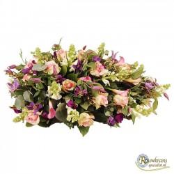 Rouwdruppel roze - paars