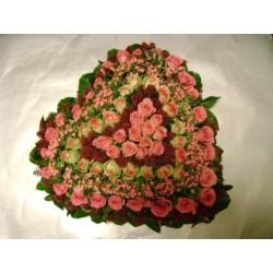rouwhart rozen bouvardia